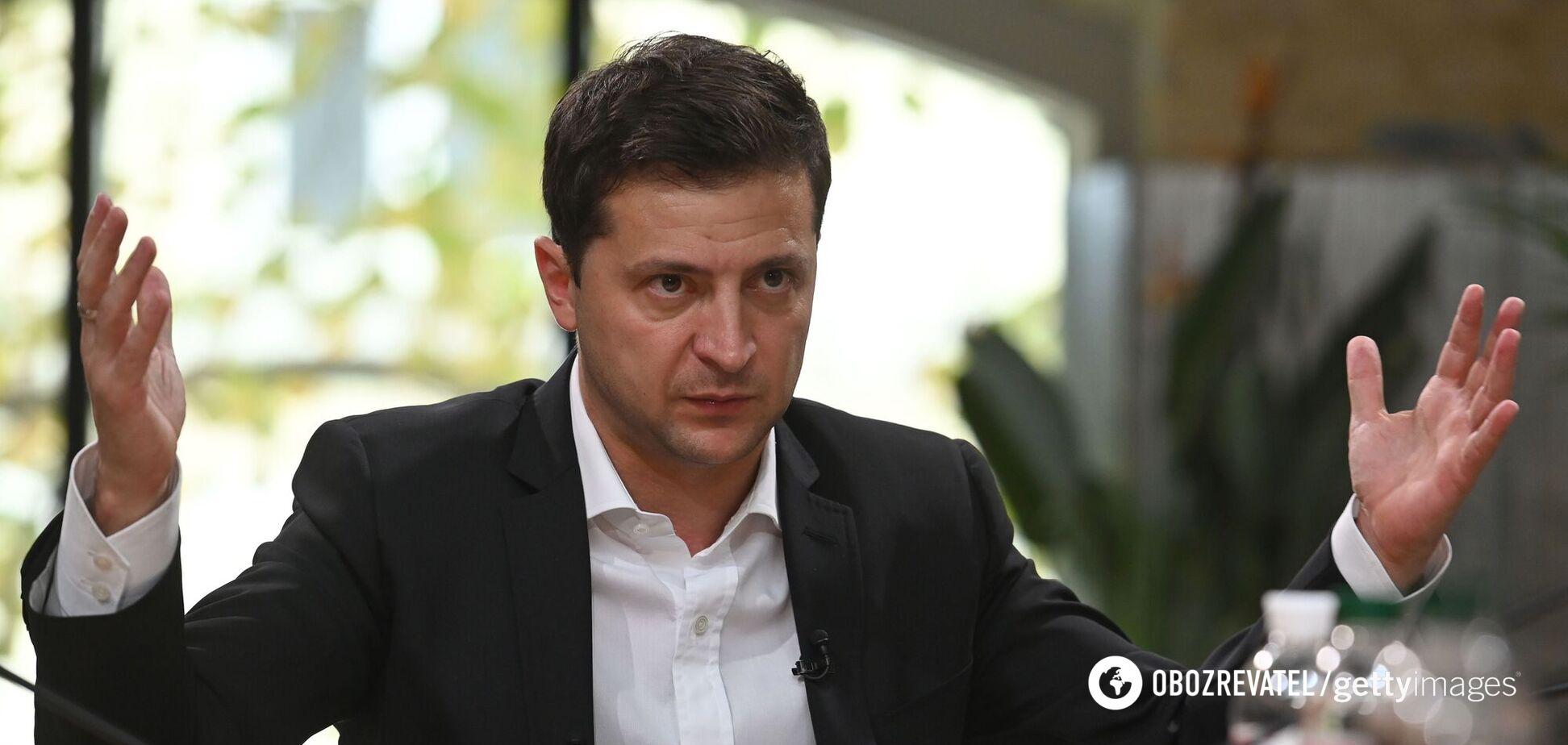 Зеленський: наступу ЗСУ на Донбасі не буде
