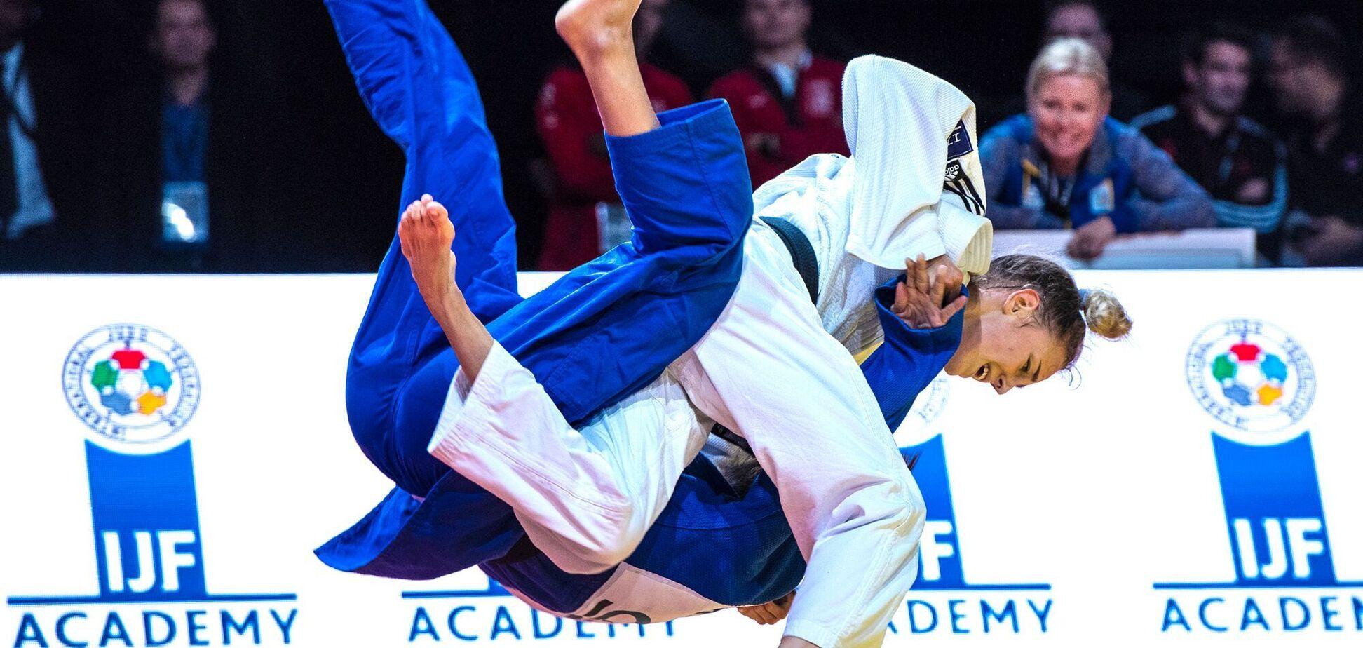 Помешала травма: украинка Белодед стала вице-чемпионкой Европы по дзюдо