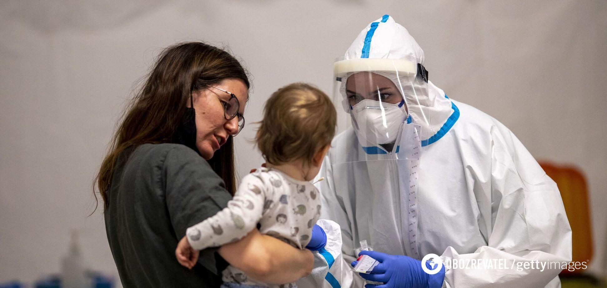 В Україні за добу на COVID-19 захворіли понад 700 дітей