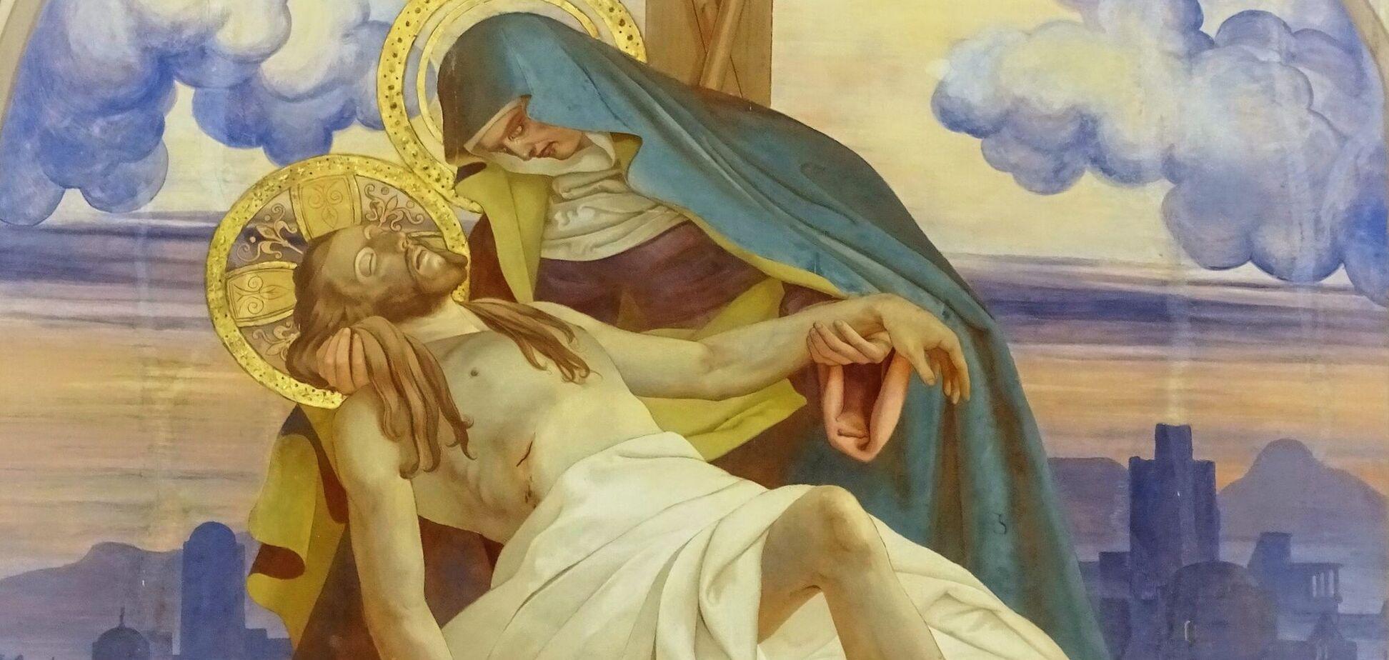 Страсна п'ятниця – день скорботи і печалі для християн усього світу