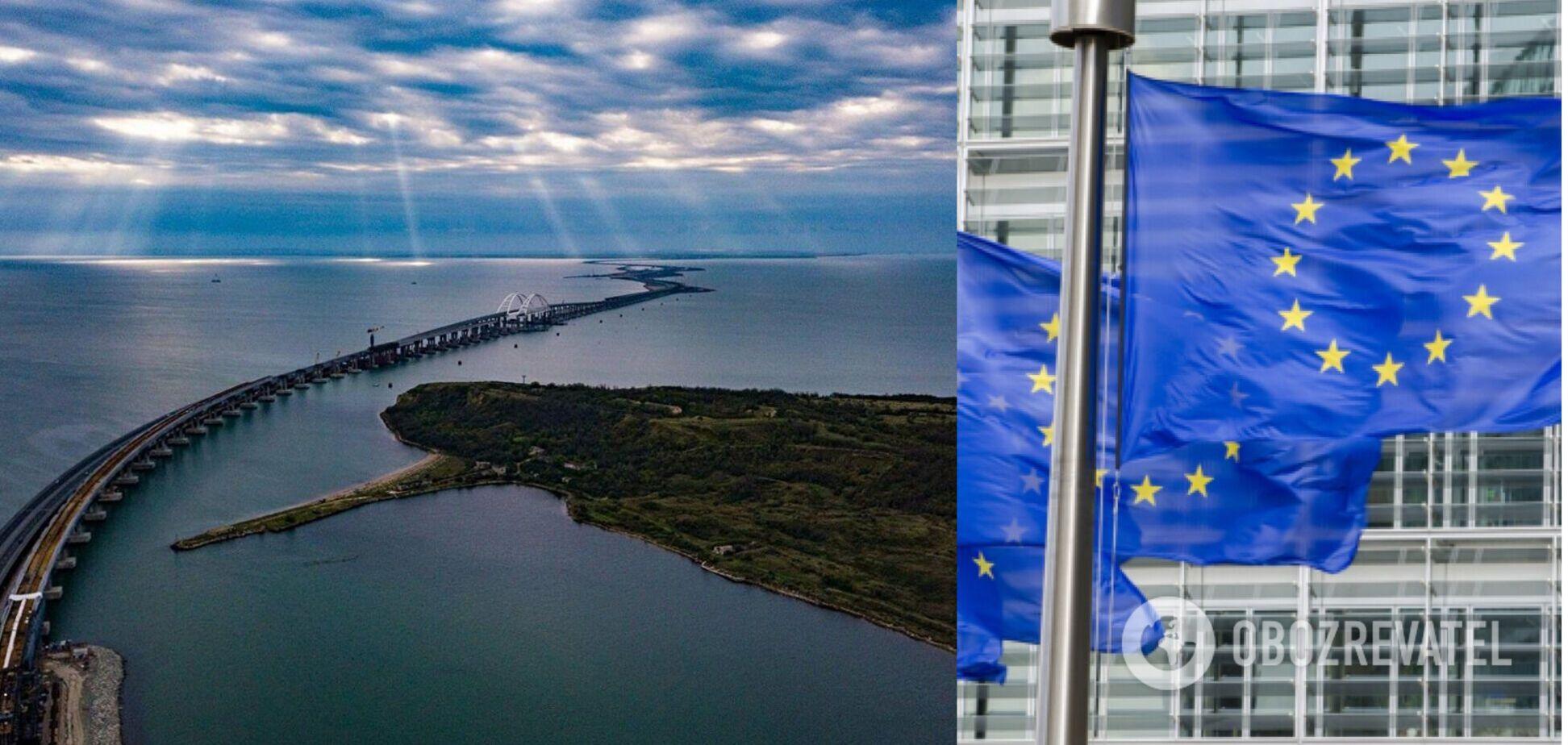 В ЕС отреагировали на блокировку Керченского пролива