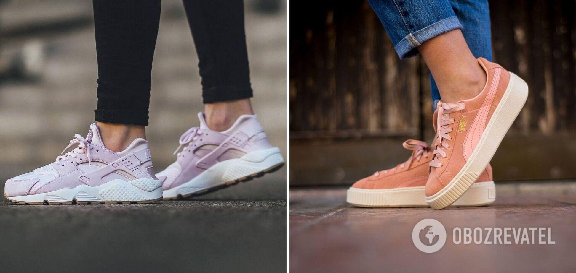 Названы стильные кроссовки на весну 2021