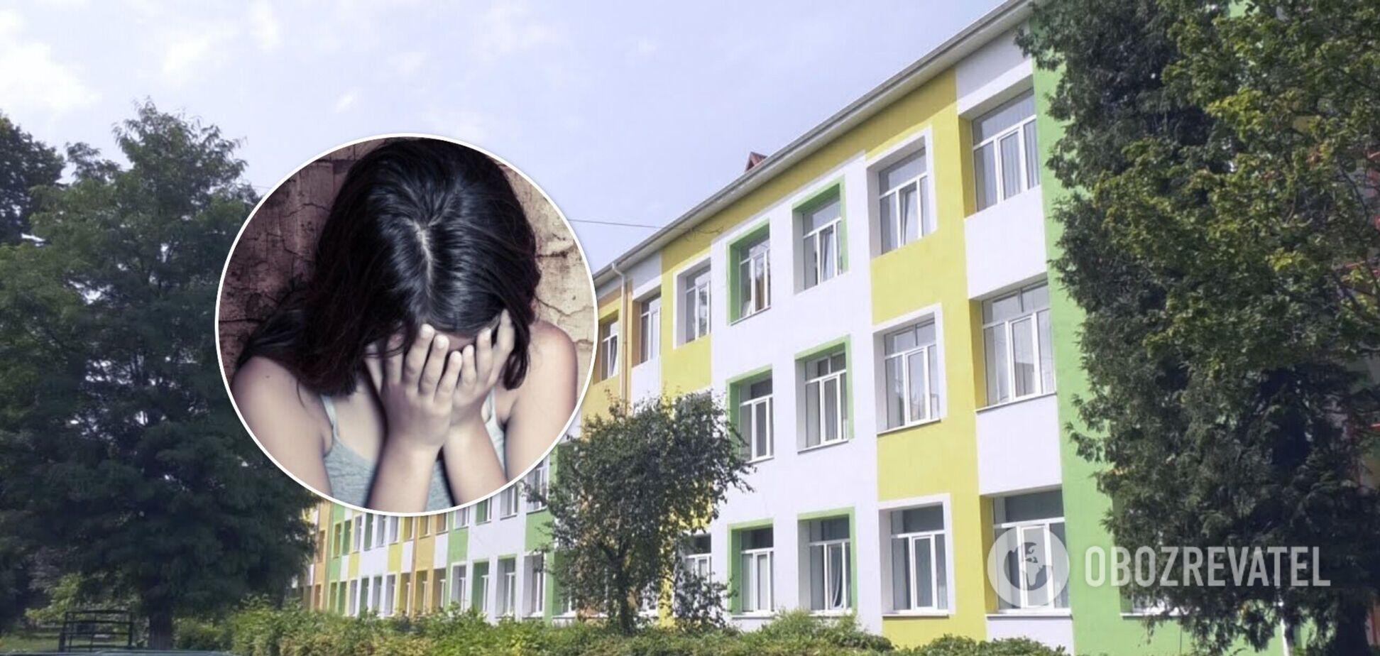 Скандал в школе Луцка