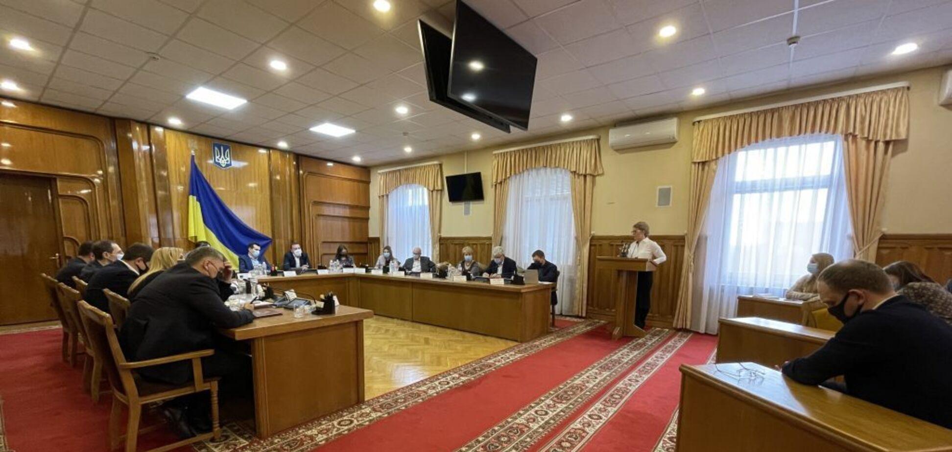 Тимошенко звернулася до ЦВК щодо рефендуму