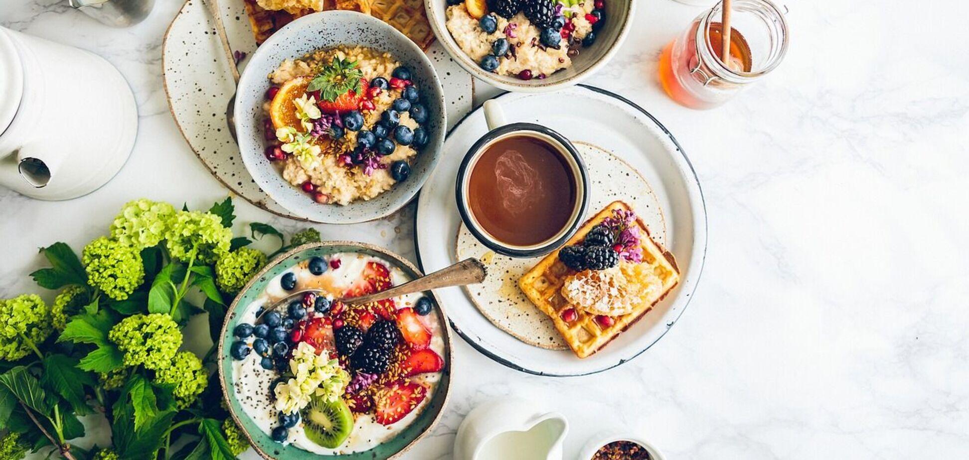 Їжа на сніданок