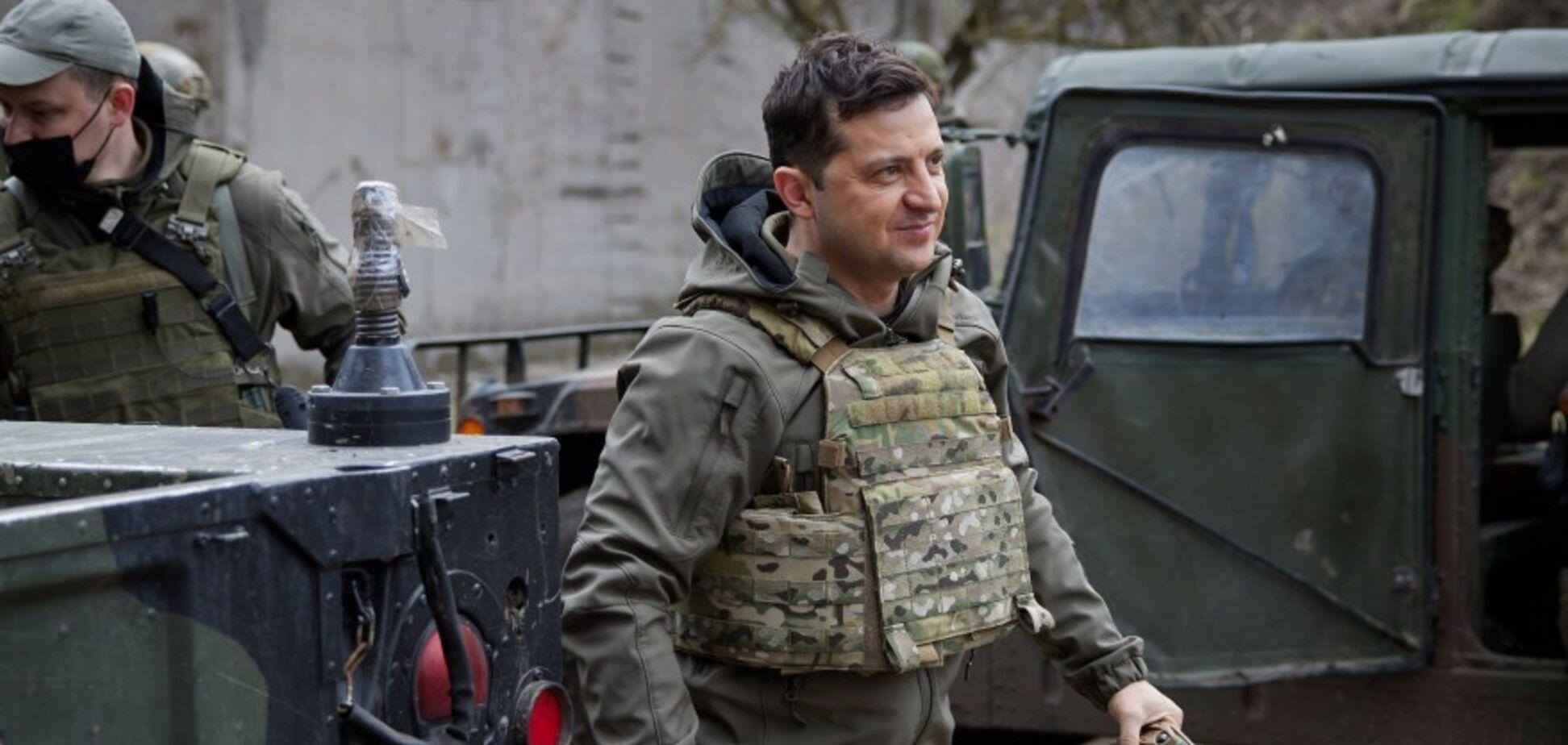 Зеленський: ми готові до будь-яких варіантів розвитку подій на Донбасі