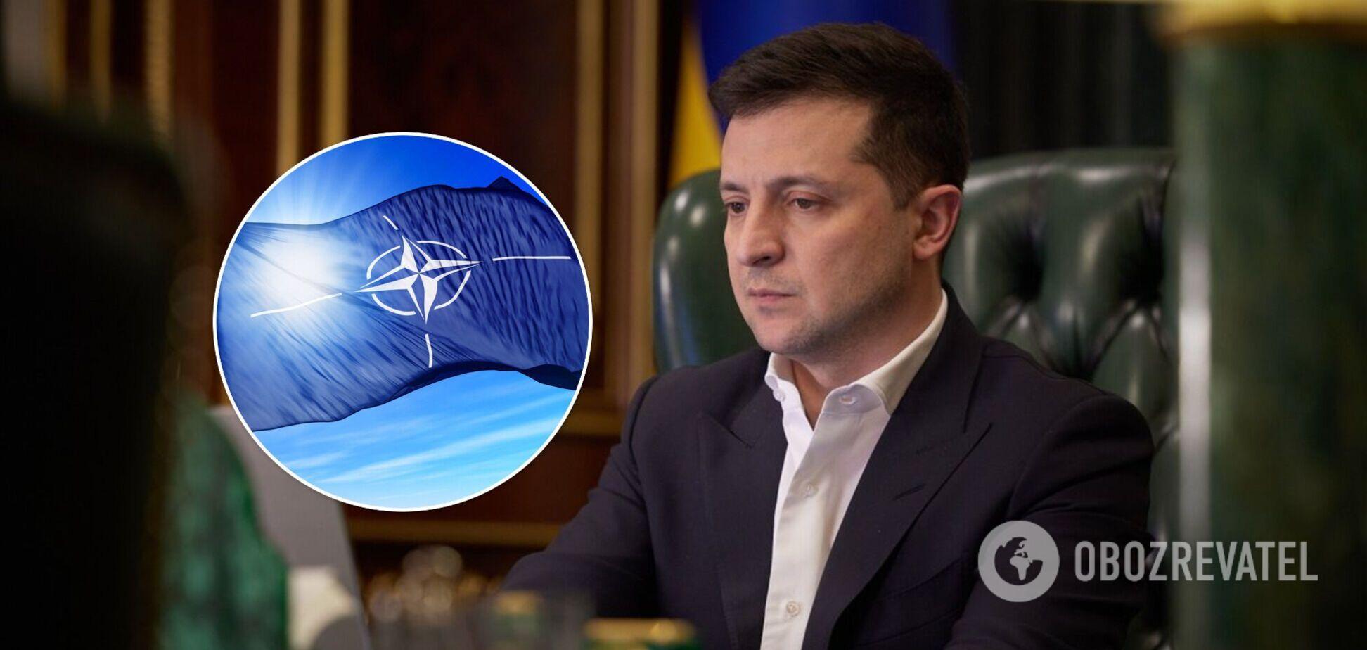Зеленский – об Украине в НАТО: в июне мы узнаем, какие страны нас поддерживают