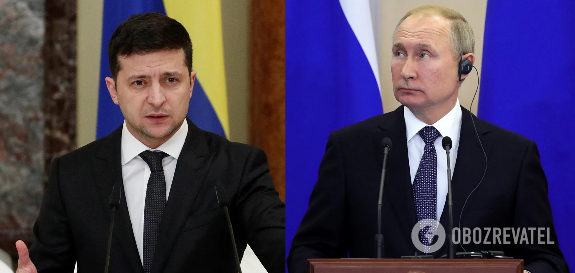 Зеленский считает риторику Путина опасной