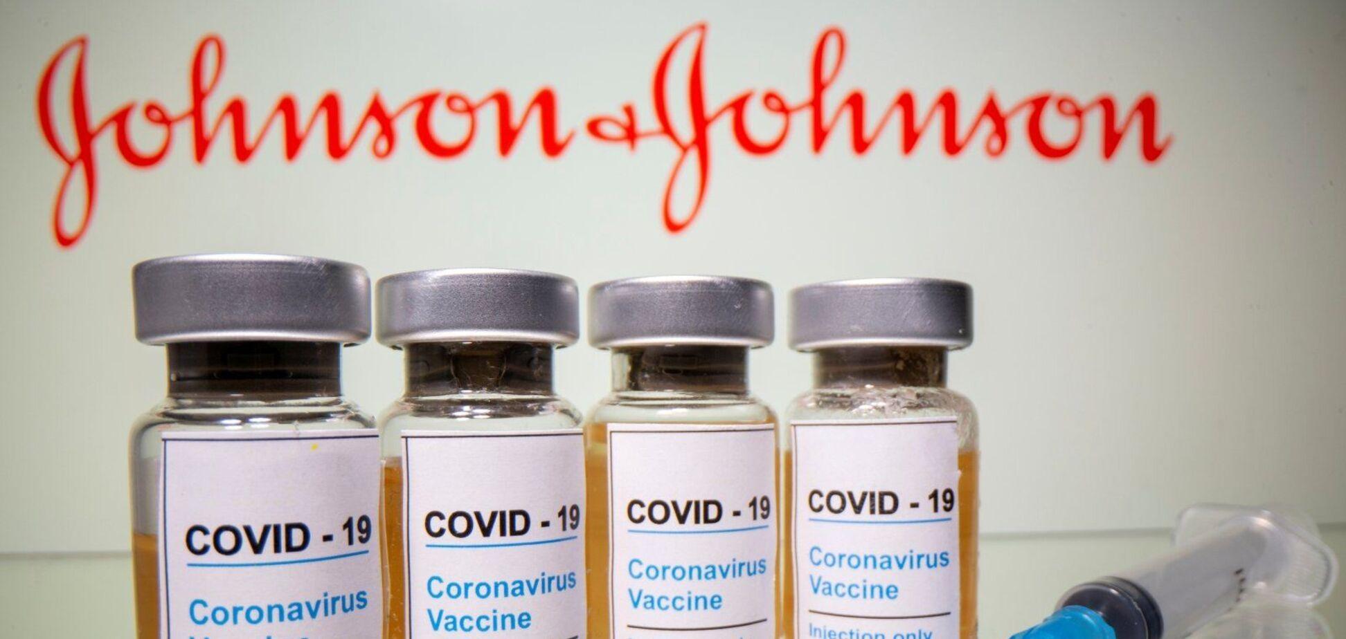 У Johnson & Johnson заявили про брак доказів зв'язку між їхньою вакциною та тромбозами
