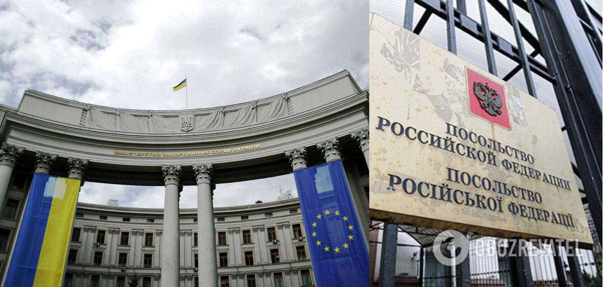Україна вишле російського дипломата у відповідь на затримання консула