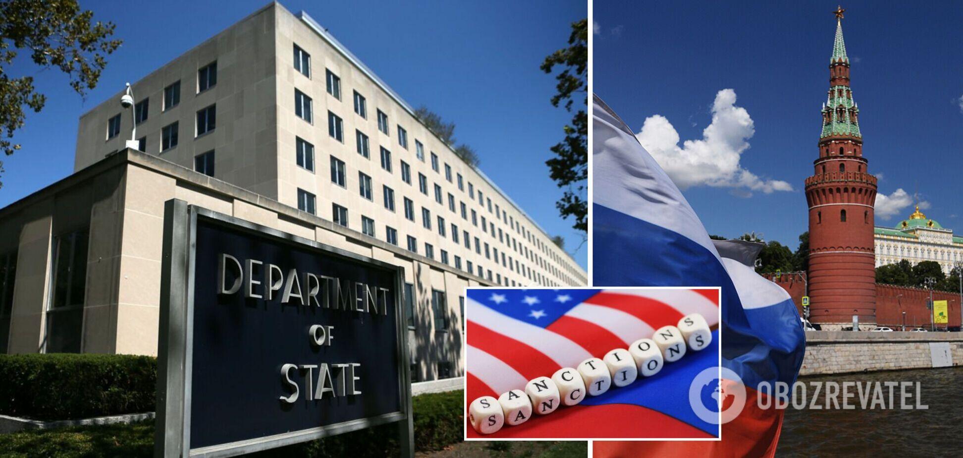 В Госдепе США отреагировали на зеркальные санкции Кремля и заявили об эскалации