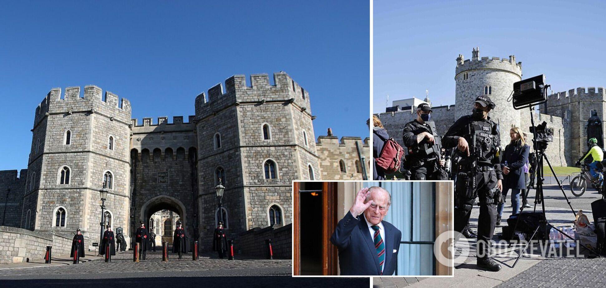 Как Великобритания готовится к похоронам принца Филиппа: фото и видео