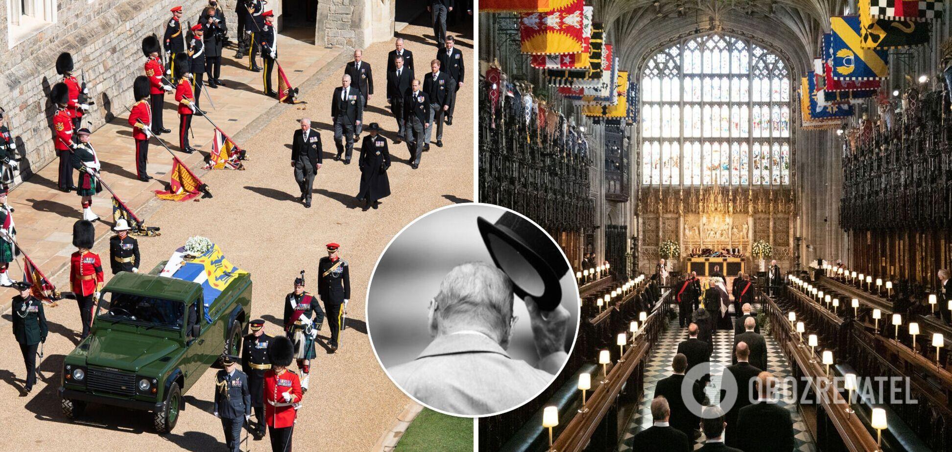 Похороны принца Филиппа: фото