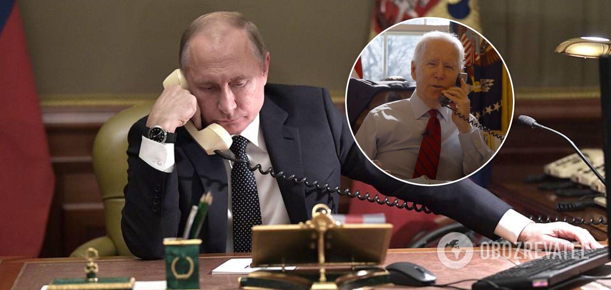 Путин не услышит Байдена