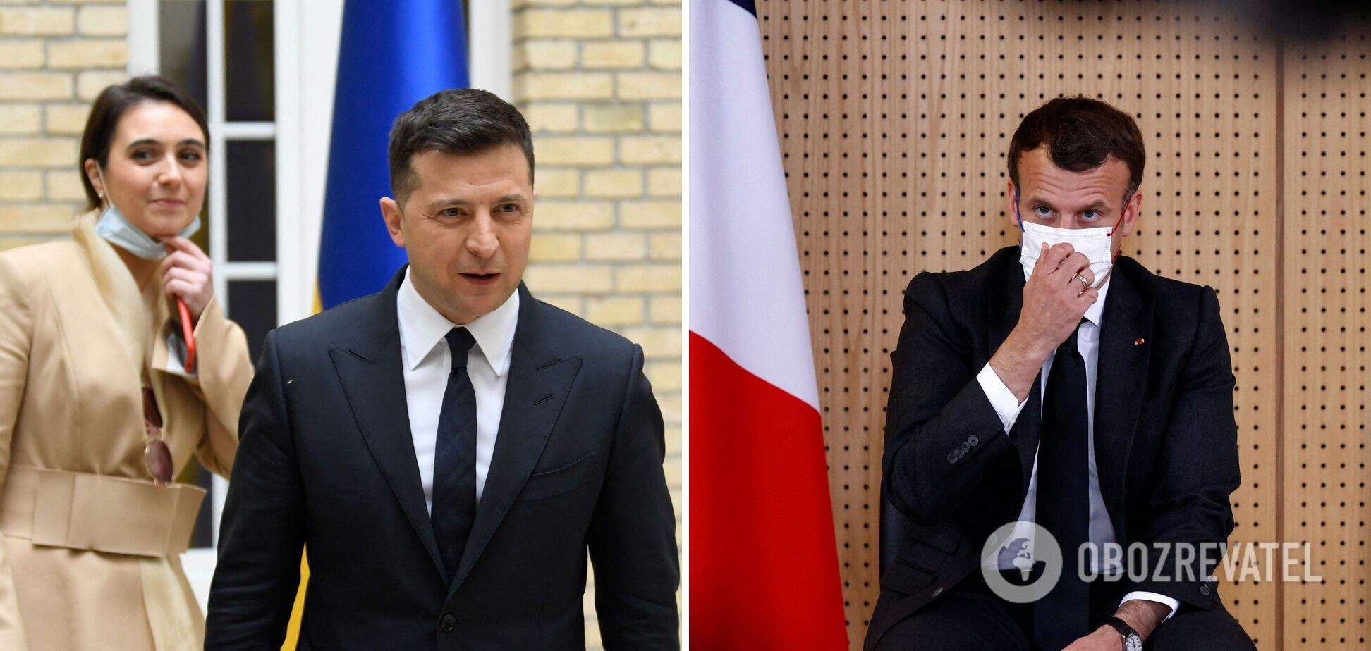 Бонжур, Париж: что осталось за кулисами встречи Зеленского и Макрона