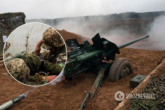 Российские оккупанты открыли огонь по ВСУ из противотанковых пушек и ранили бойца