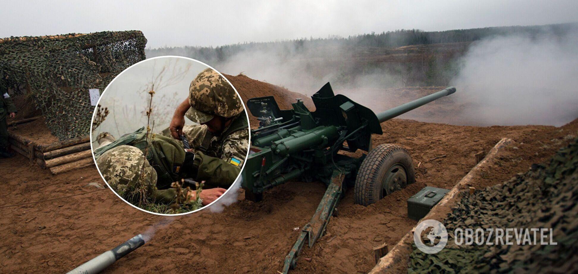 Російські окупанти відкрили вогонь по ЗСУ з протитанкових гармат та поранили бійця