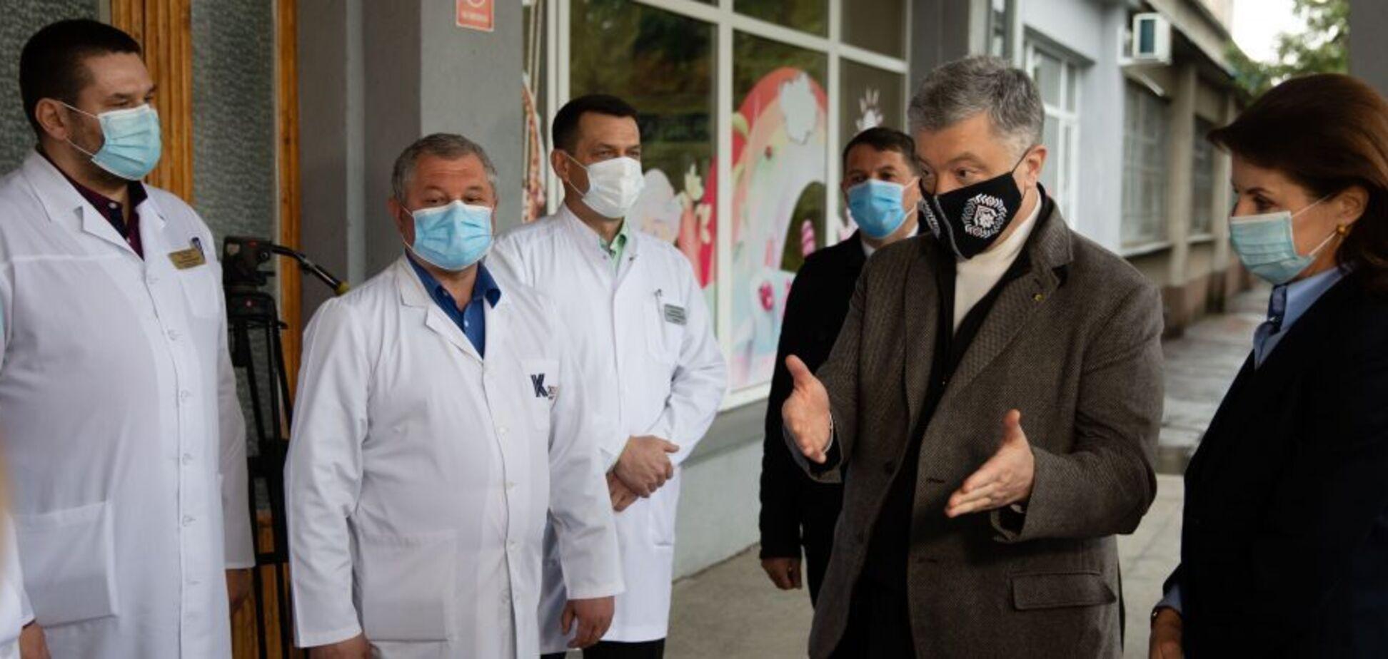 Порошенко озвучил возможную модель производства вакцин в Украине