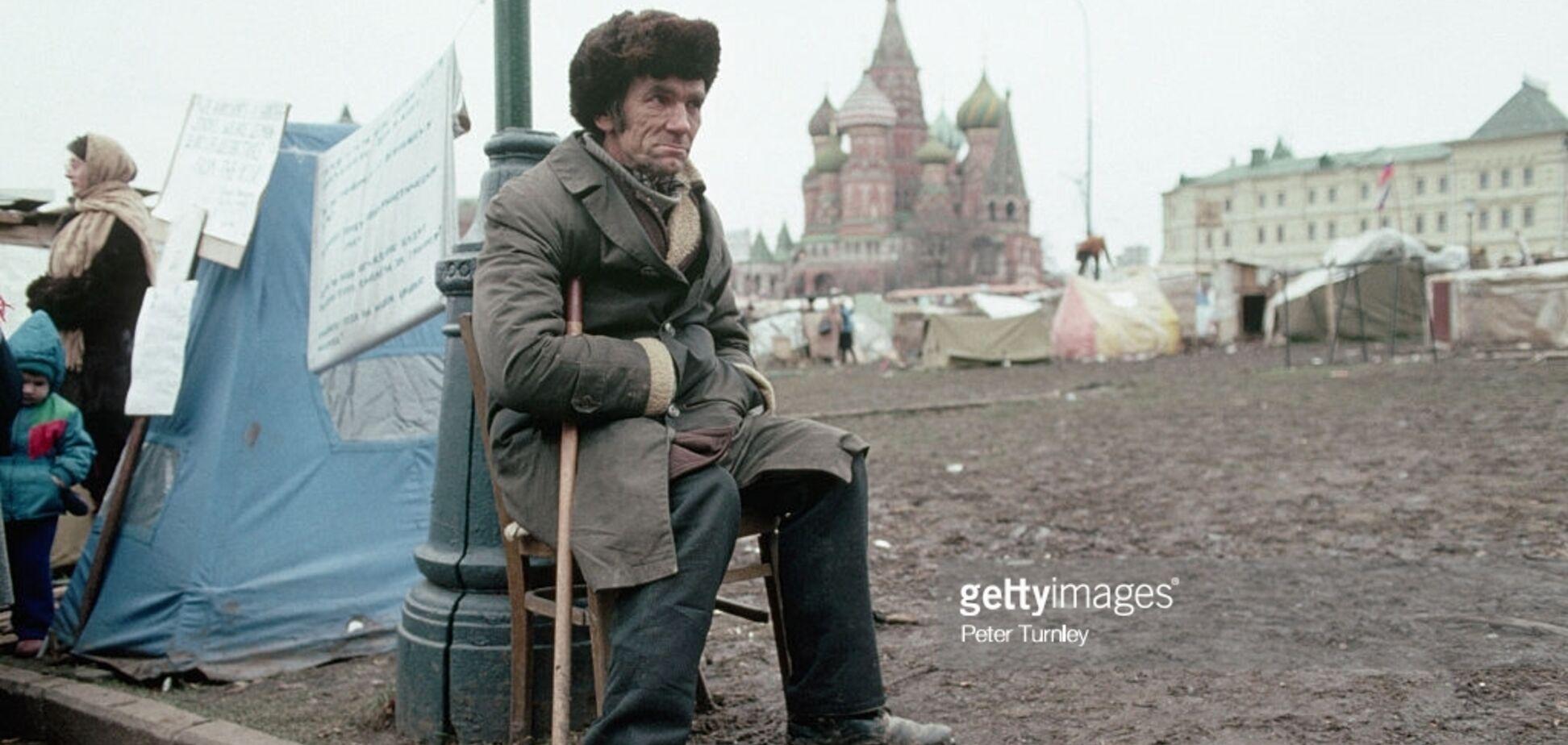 Міф про те, що в СРСР не було жебраків