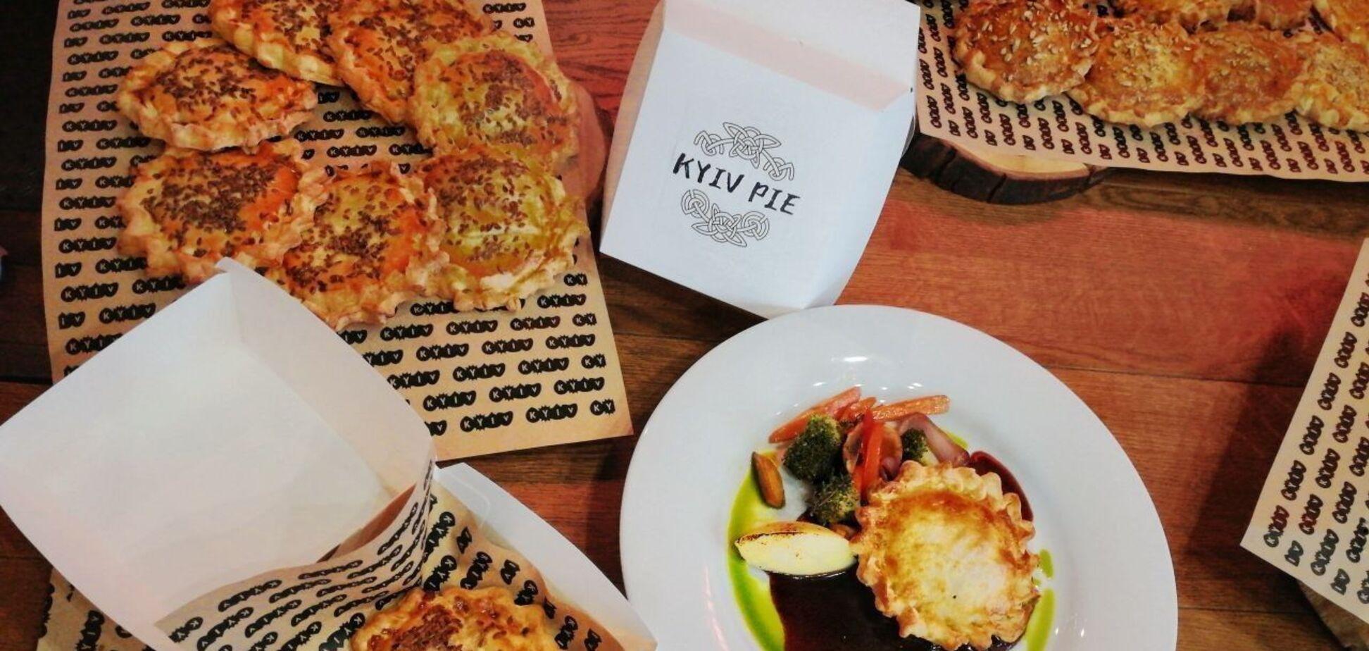 У Києві показали альтернативний логотип для пирога Kyiv Pie. Відео