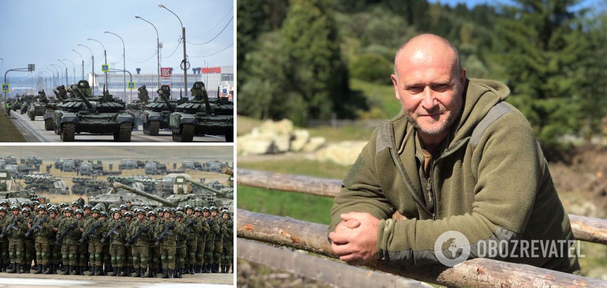 Ярош: Россия готовится к вторжению, но оно станет гвоздем в гроб империи. Интервью