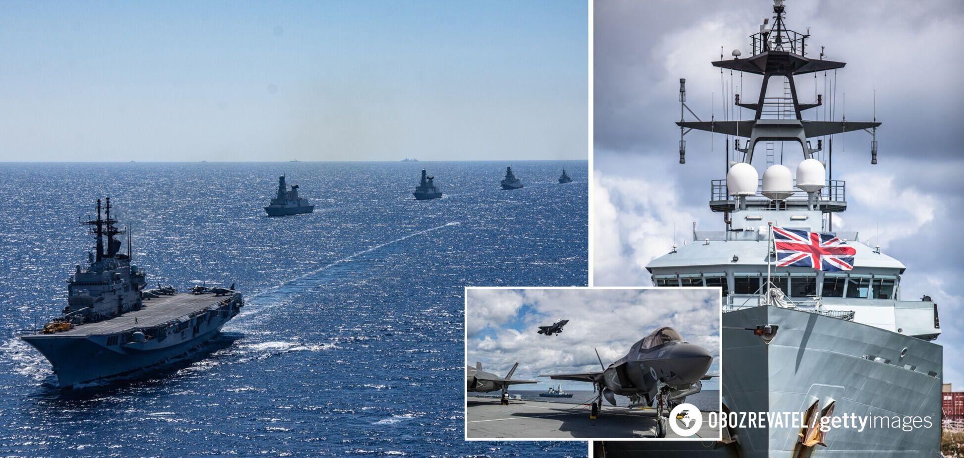 Британия отправит военные корабли в Черное море