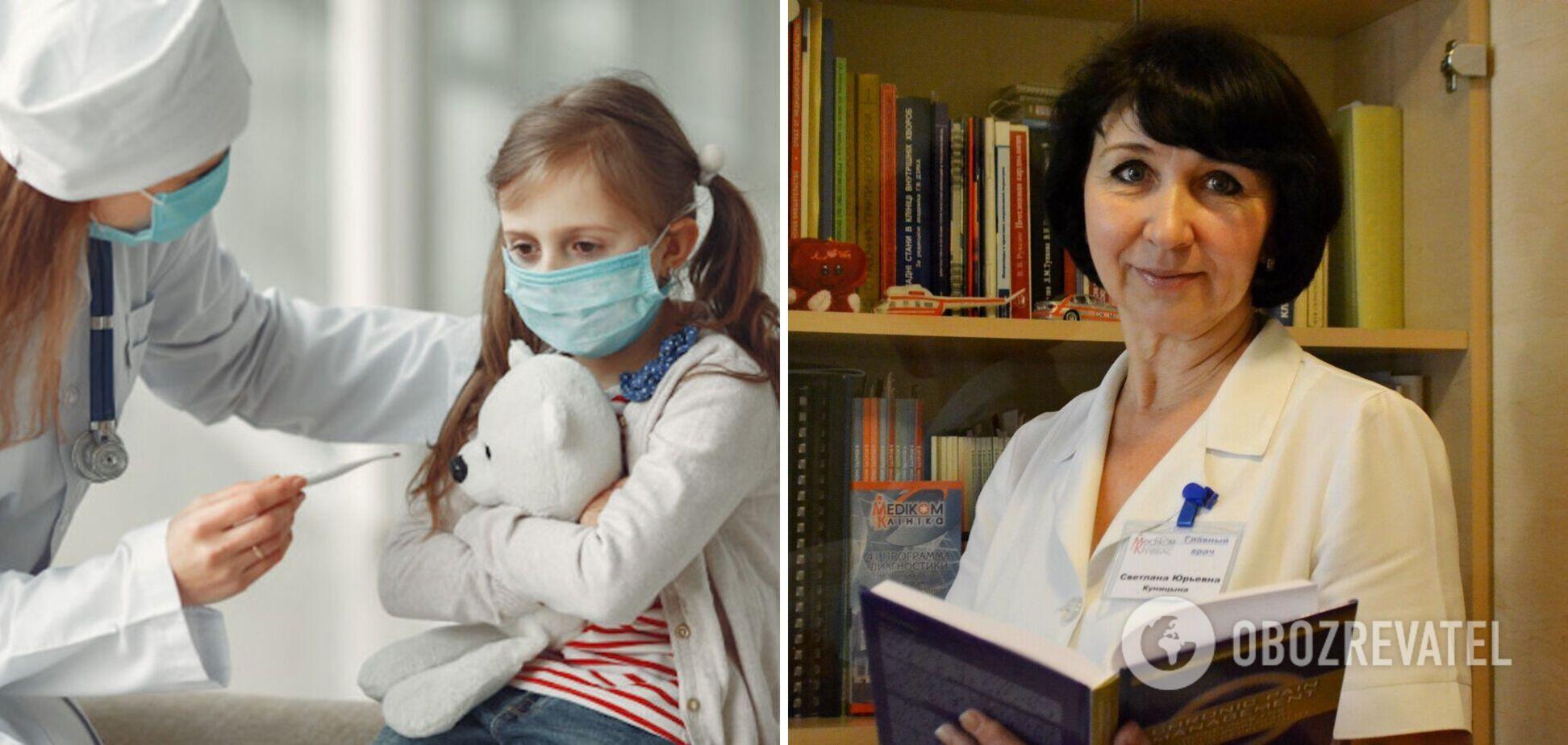 Инфекционист объяснила, как распознать новый штамм коронавируса у детей