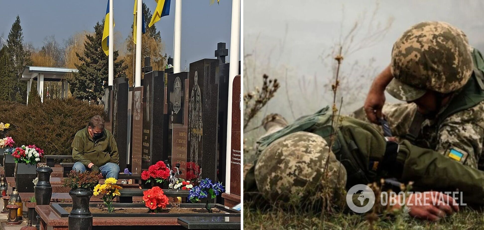 Фото отца погибших на Донбассе воинов ВСУ тронуло украинсцев