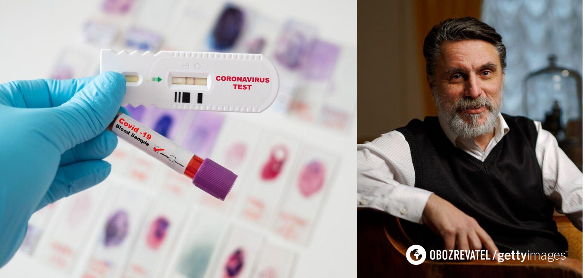 Одужання від COVID-19 залежить не від антитіл, – генетик