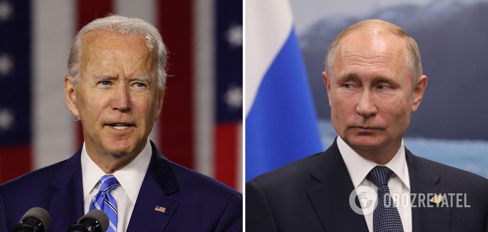 Встреча Байдена и Путина
