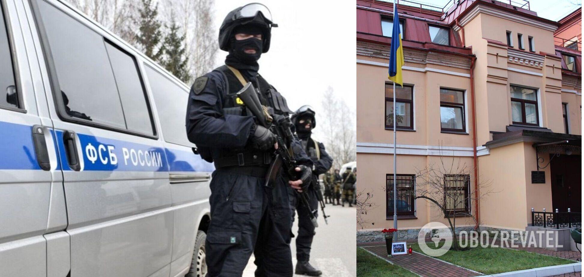 Затримання українського консула ФСБ