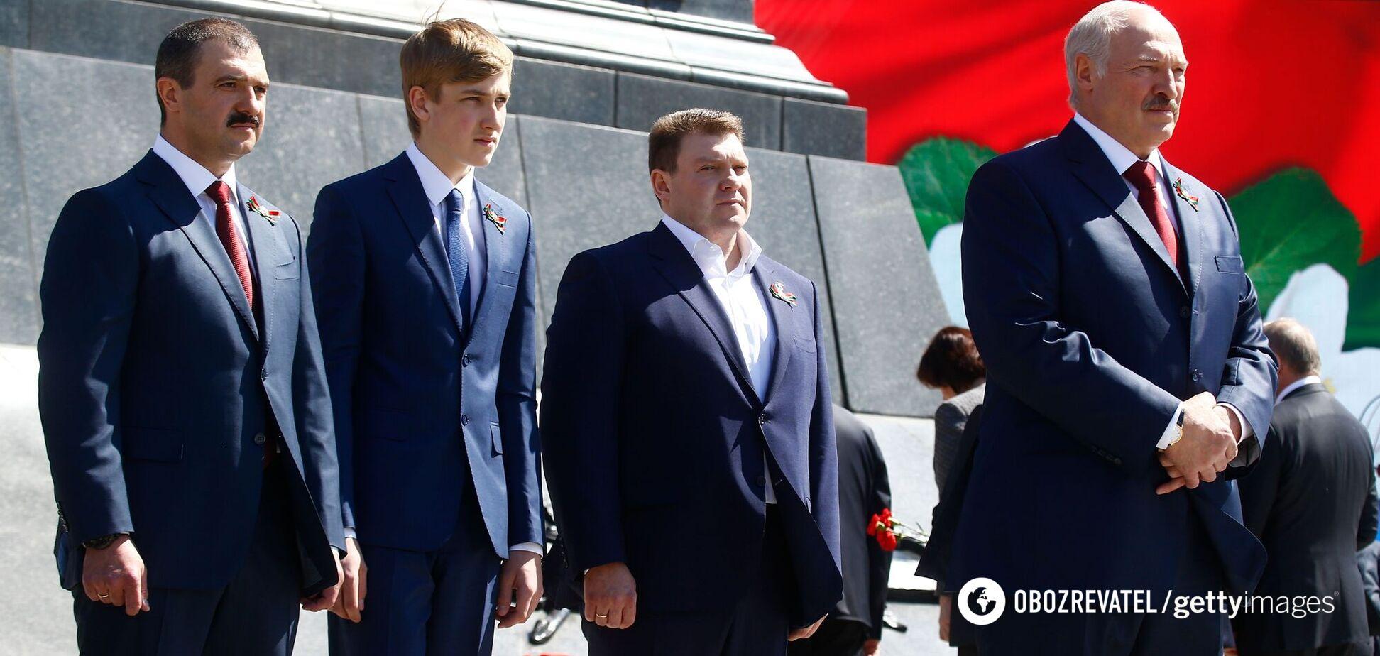 Син Лукашенка