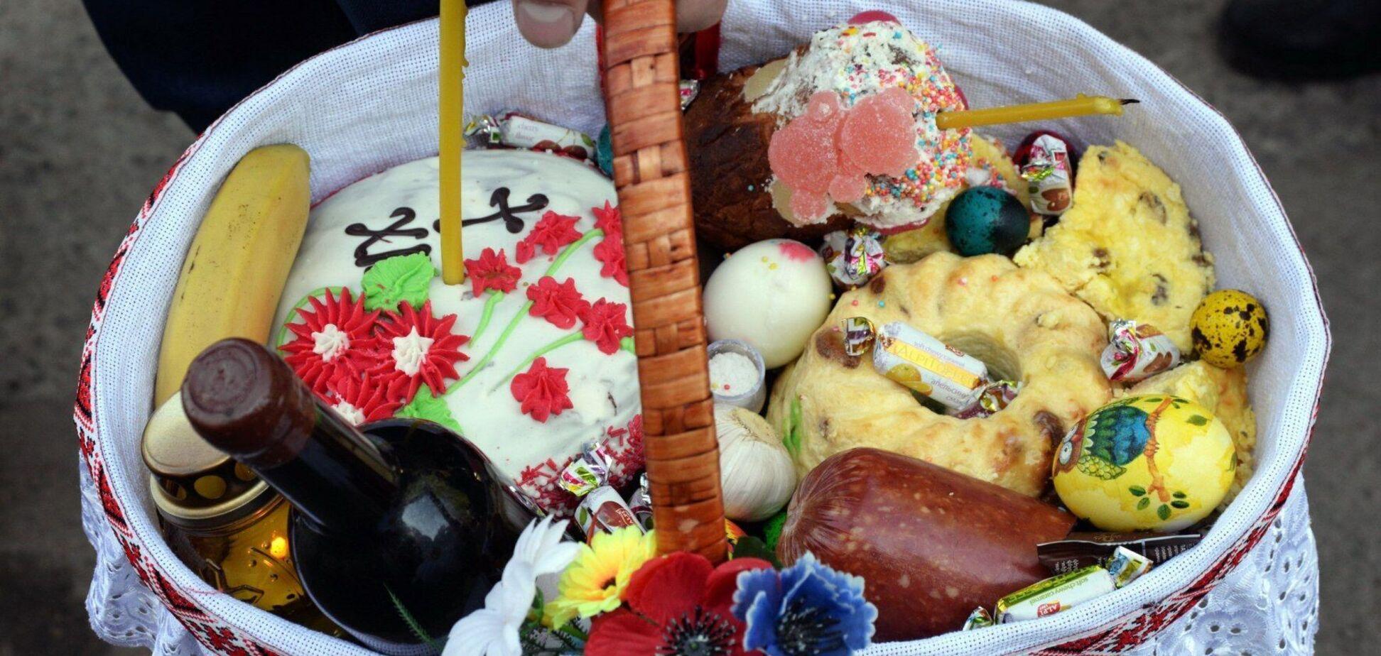 Скільки коштує великодній кошик в Україні
