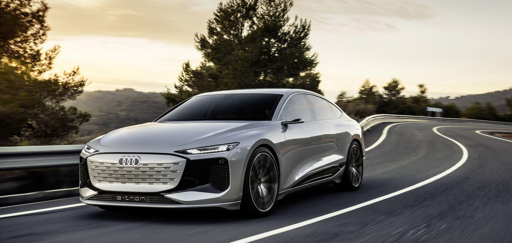 Audi показал прототип нового поколения А6 на электричестве