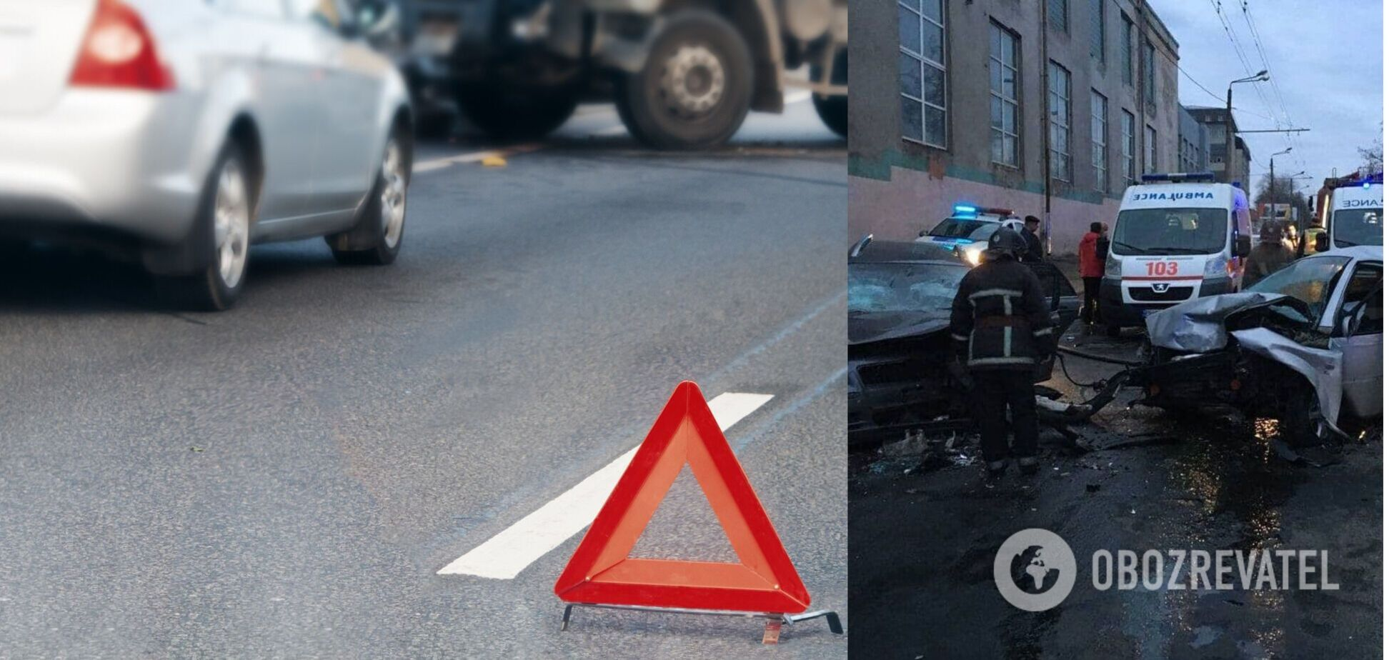 В Одесі автомобілі зіткнулися лоб у лоб: один водій загинув. Фото й відео