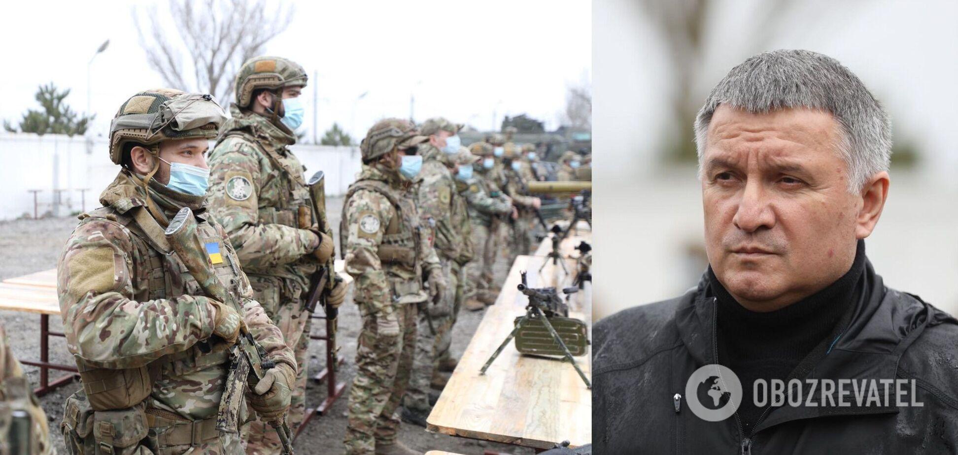 Аваков назвав стягування військ РФ до України найбільшою загрозою з 2015 року