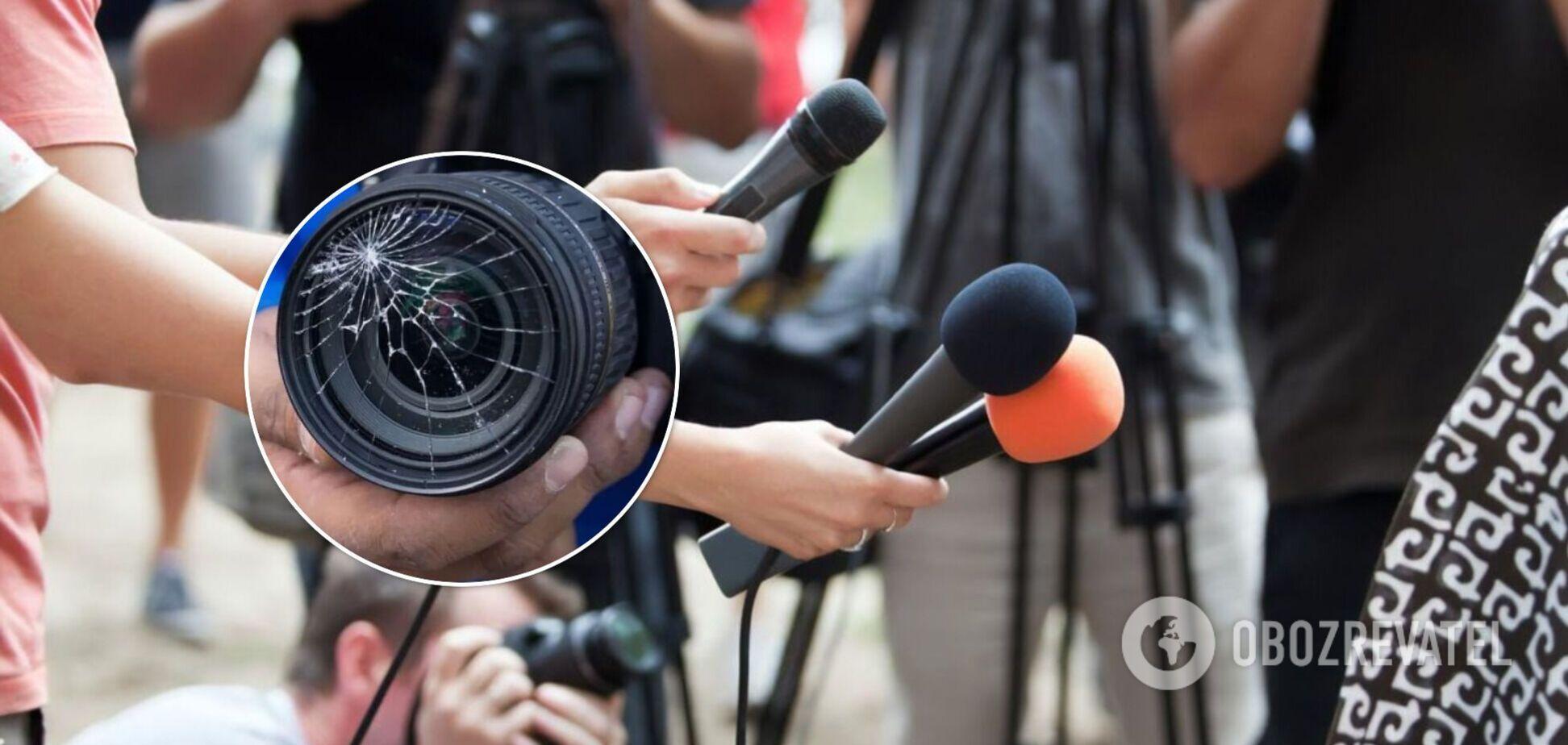 С начала 2021 года зафиксирован 21 случай физической агрессии против журналистов – НСЖУ