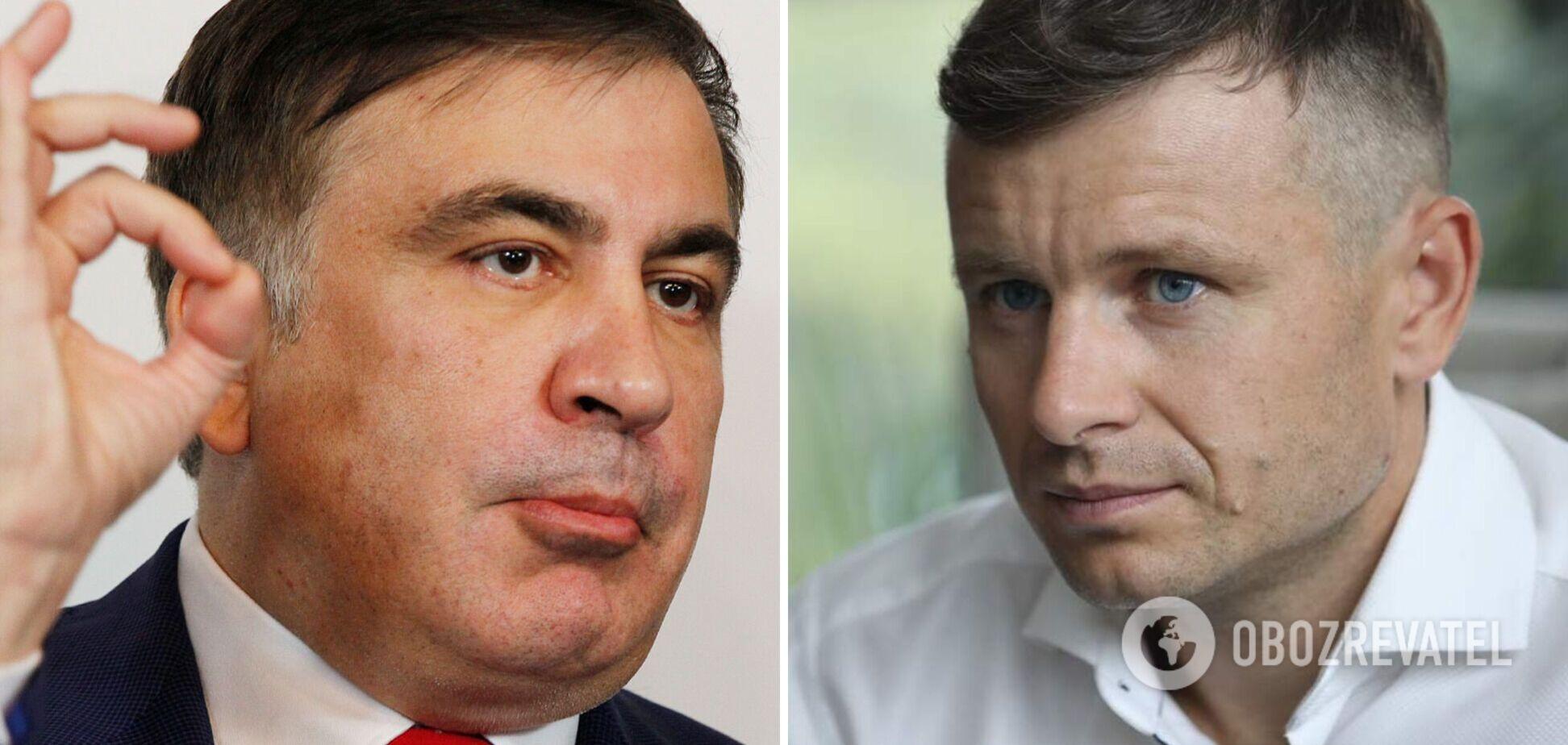 Глава Минфина назвал Саакашвили 'шулером и гастарбайтером', тот в ответ обозвал Марченко 'козявкой и ничтожеством'