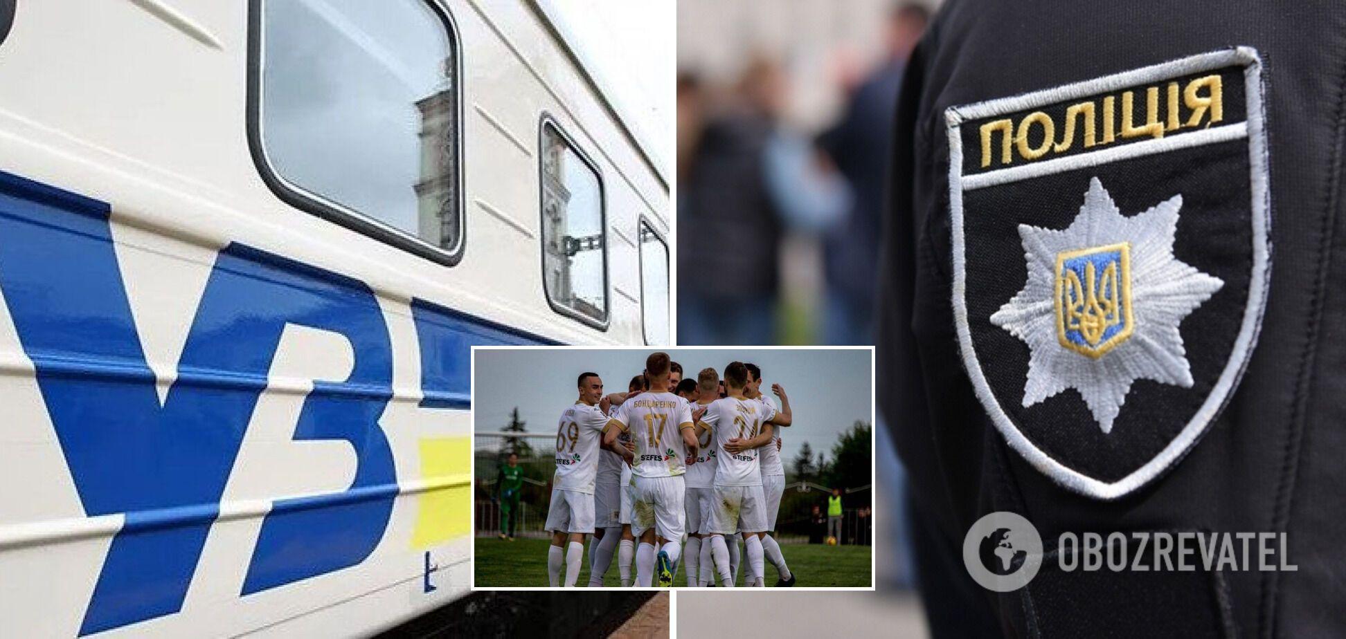 Футболісти київського 'Колоса' влаштували дебош у поїзді: подробиці від постраждалої