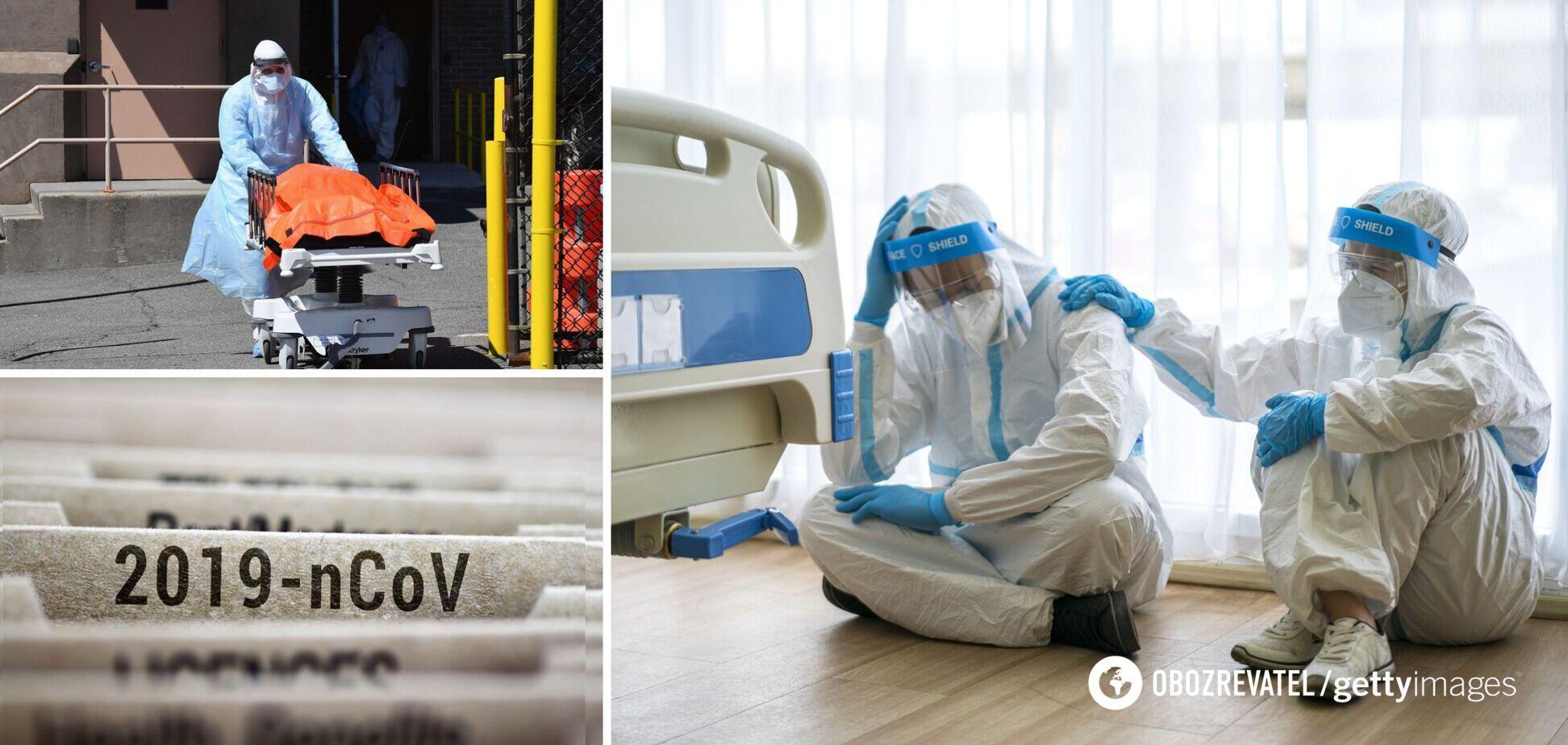Смерть от коронавируса в Украине