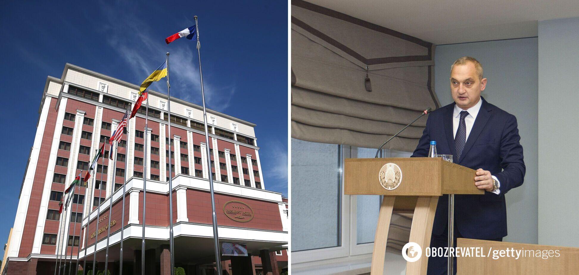 У Білорусі заявили, що не збираються нападати на Україну й готові бути майданчиком для ТКГ
