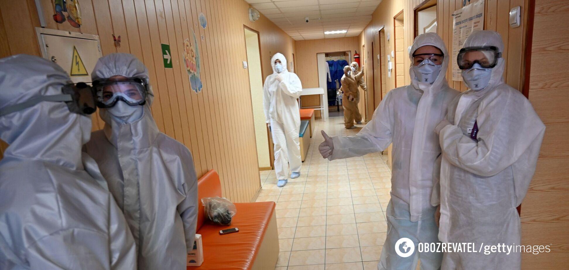 В двух регионах Украины критическая ситуация с госпитализацией из-за COVID-19: статистика