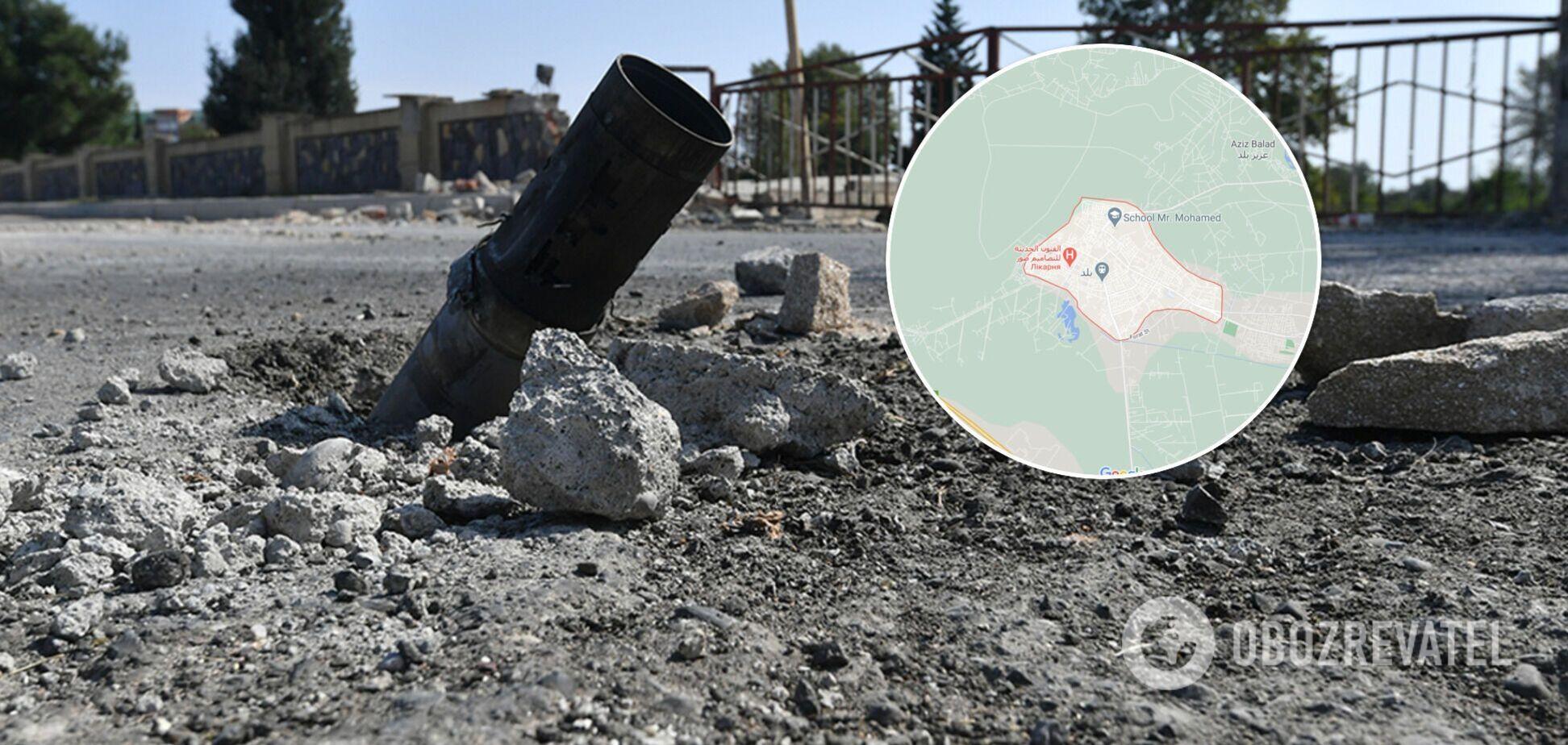 Обстрел ракетами в Ираке