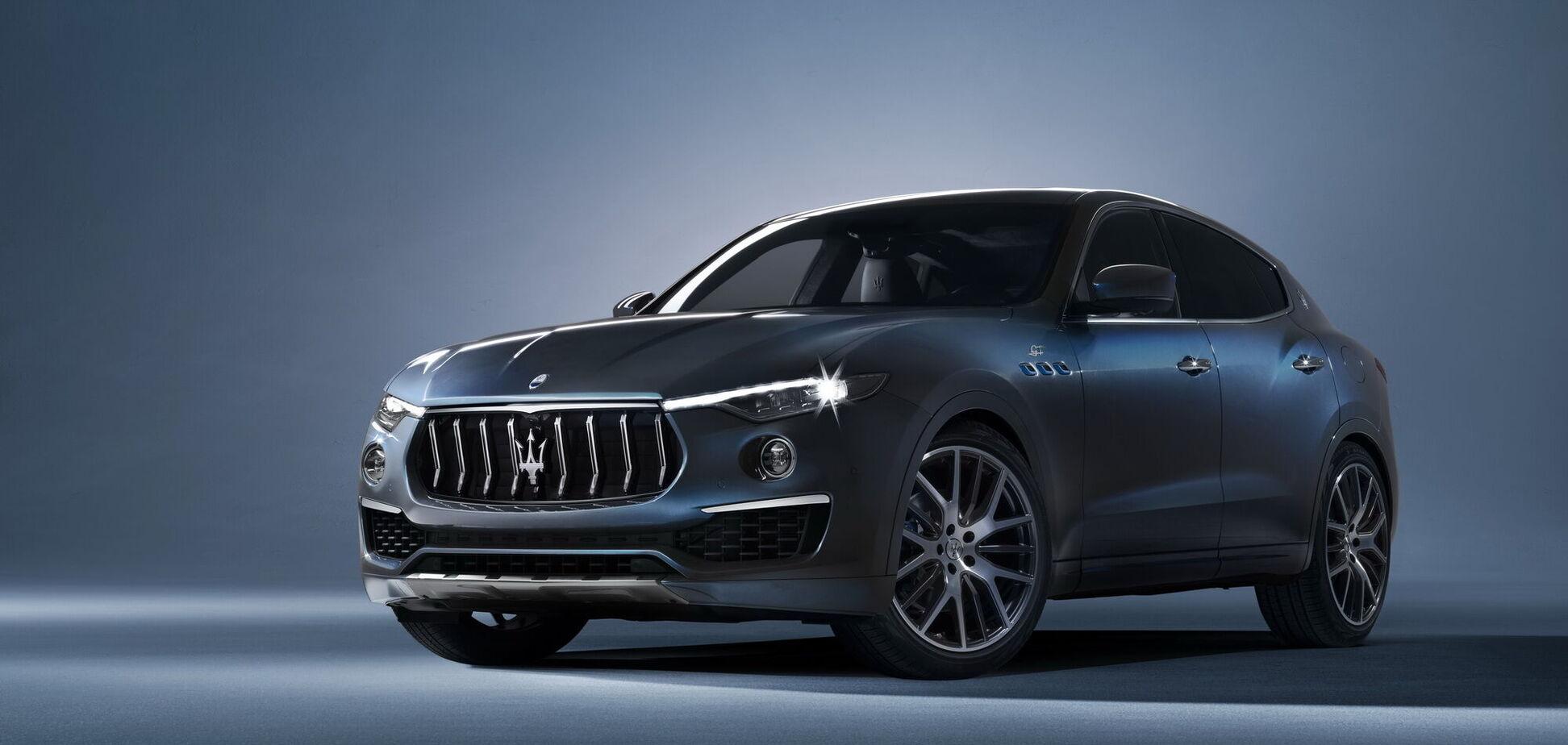 Кроссовер Maserati Levante стал гибридом