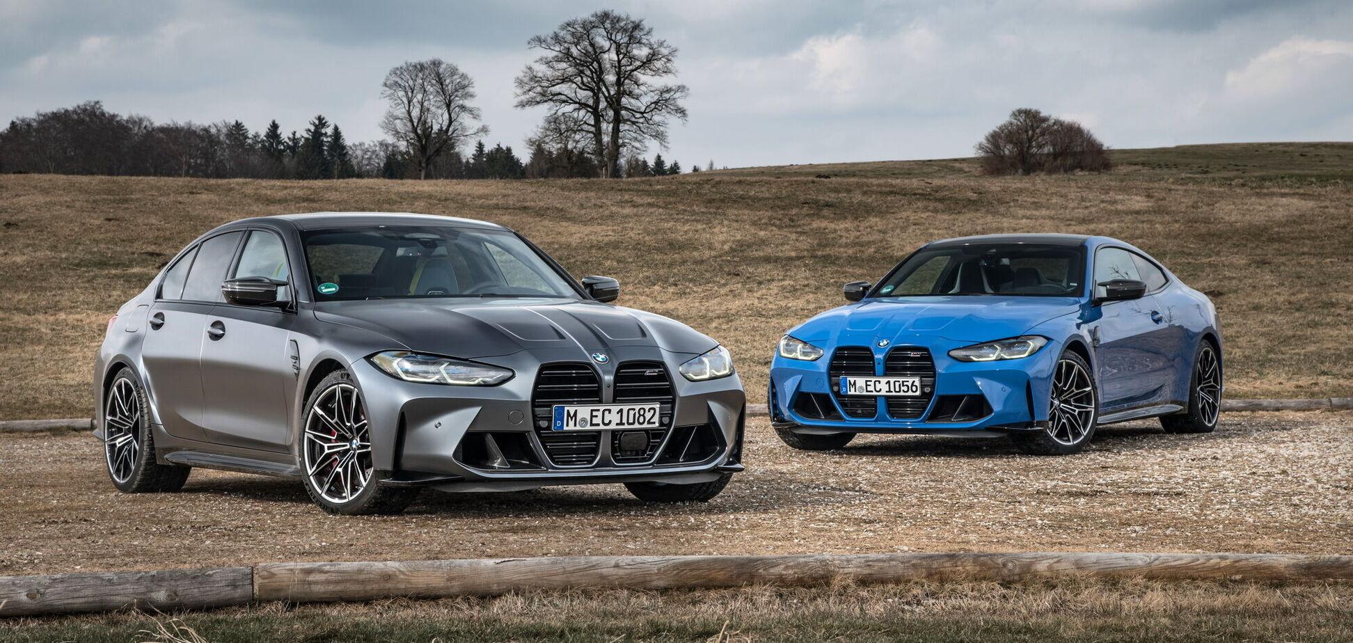 BMW M3 та М4 вперше отримали повний привід