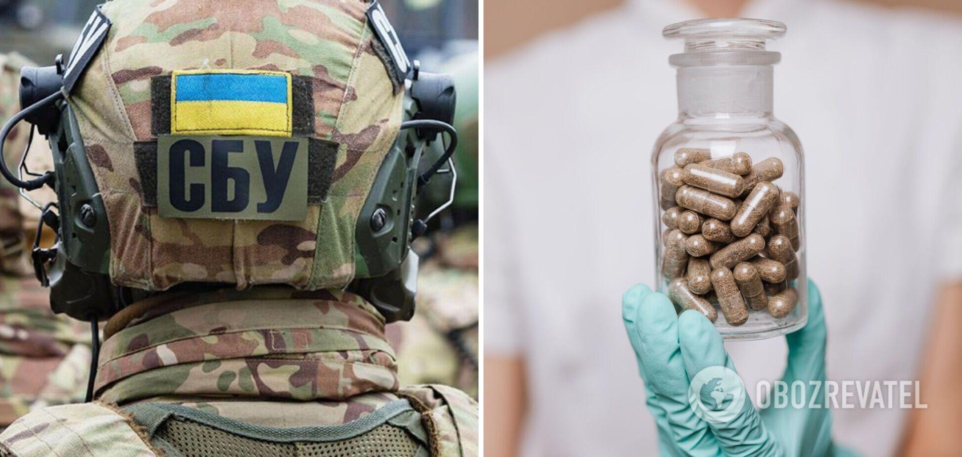 СБУ припинила контрабанду потенційно небезпечних ліків