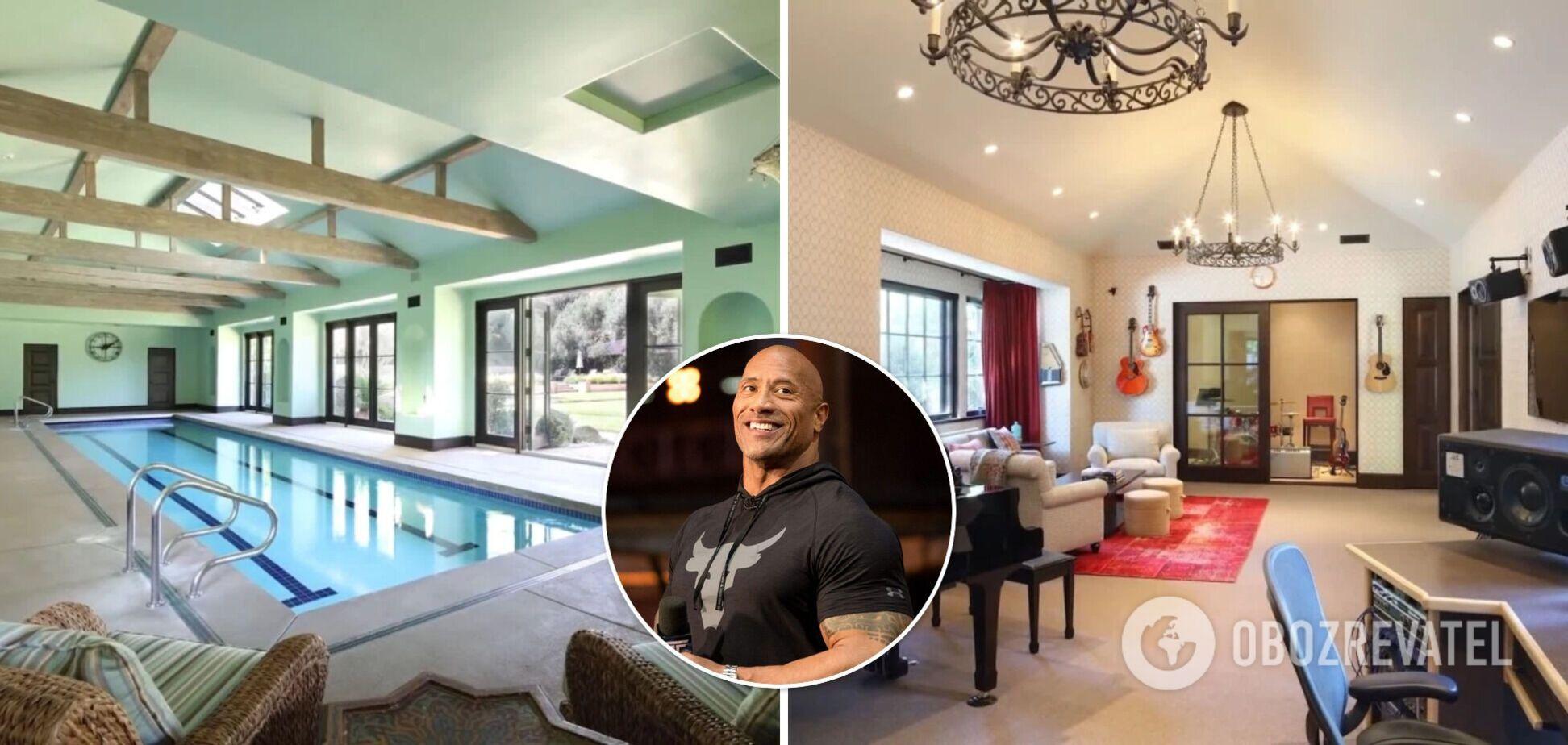 Дуейн 'Скеля' Джонсон купив маєток за 35 млн доларів: як він виглядає