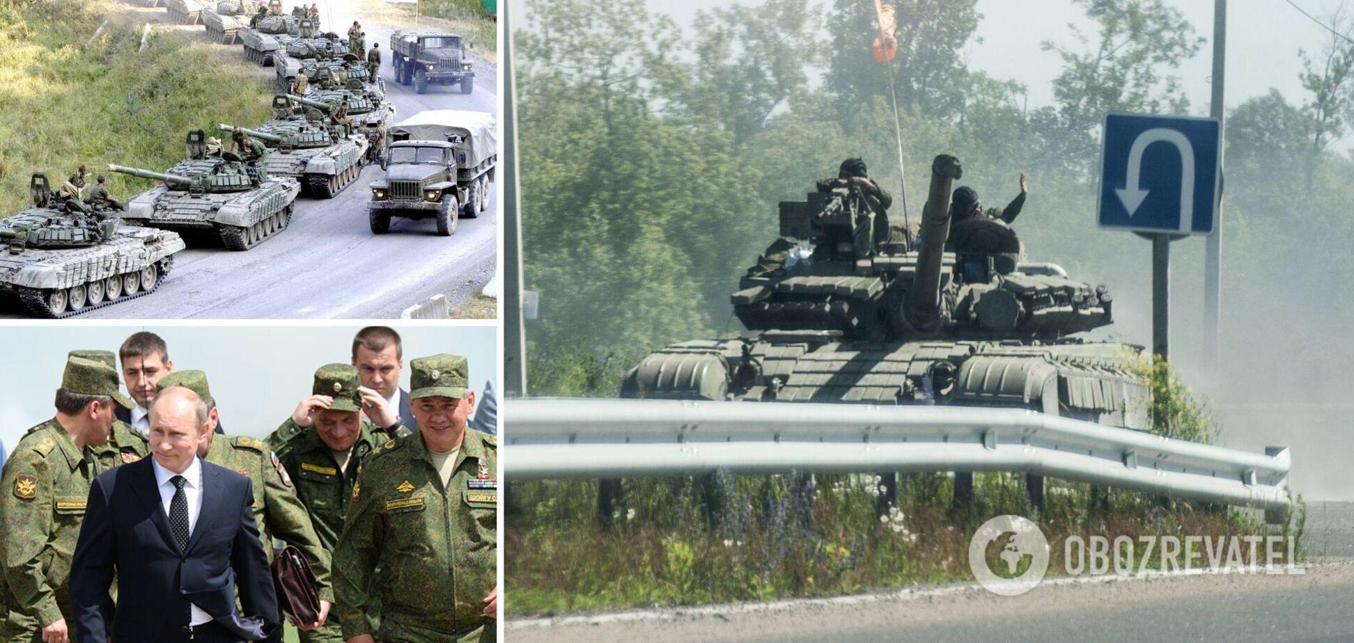 Росія активно стягує до кордонів з Україною війська та техніку, начебто для чергових військових навчан