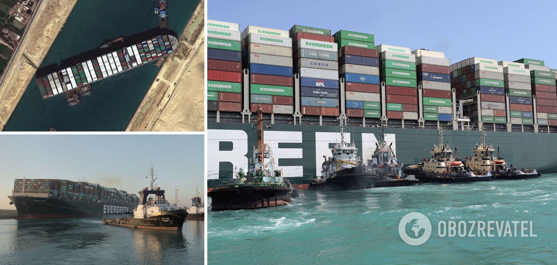 У Єгипті заарештували судно 'Ever Given': від власника вимагають майже $1 млрд