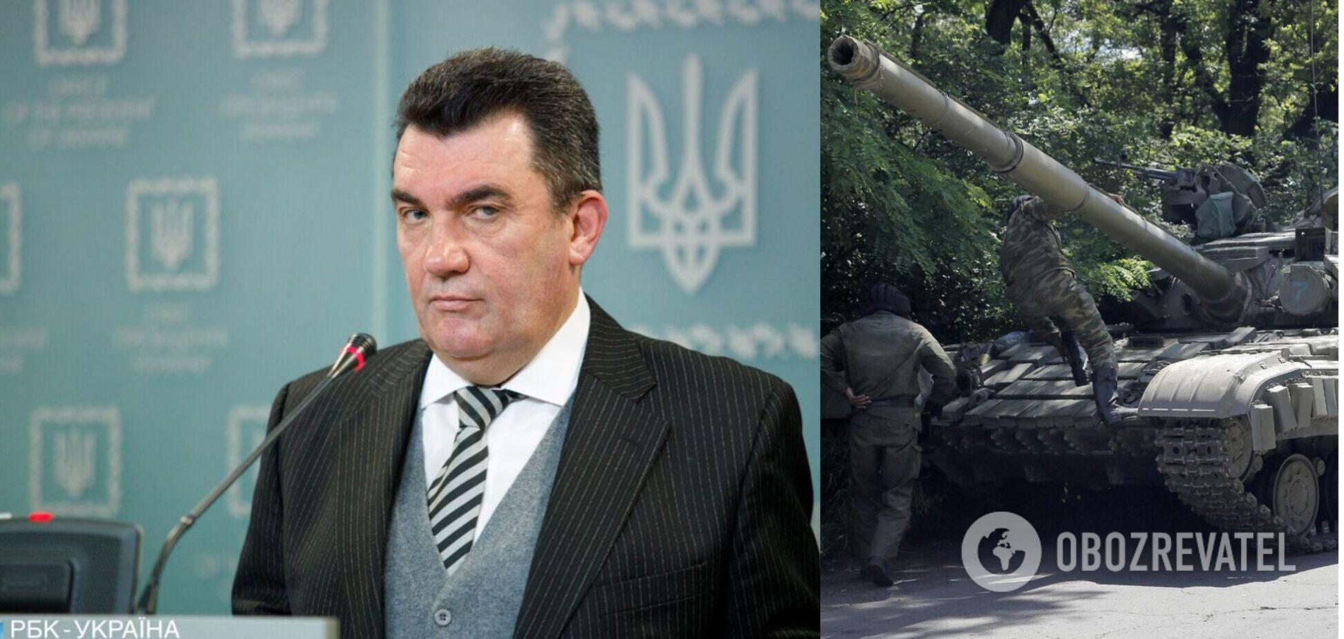 Данилов назвал фракцию Рады, члены которой 'заправляют' российские танки и БТРы